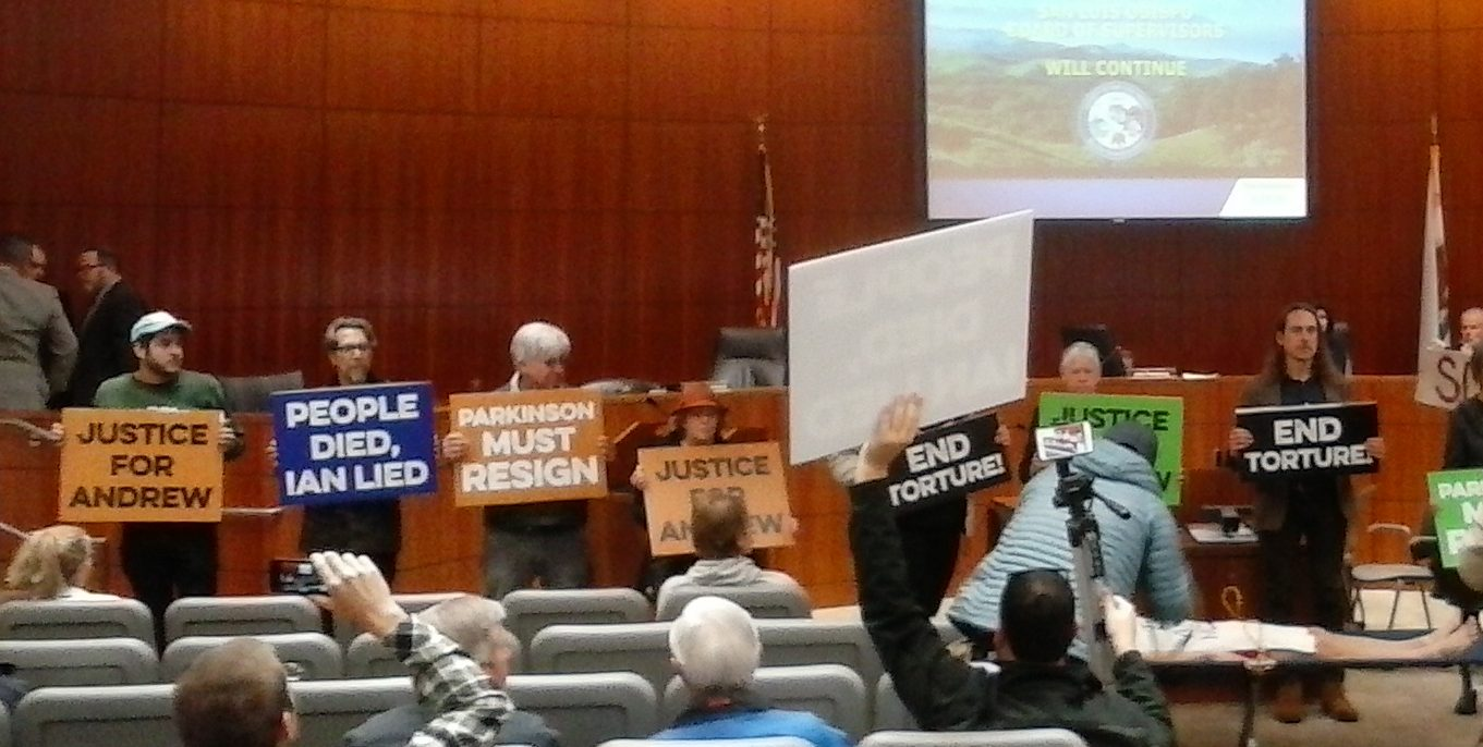 Paid political boss shutters SLO County Supervisor's meeting