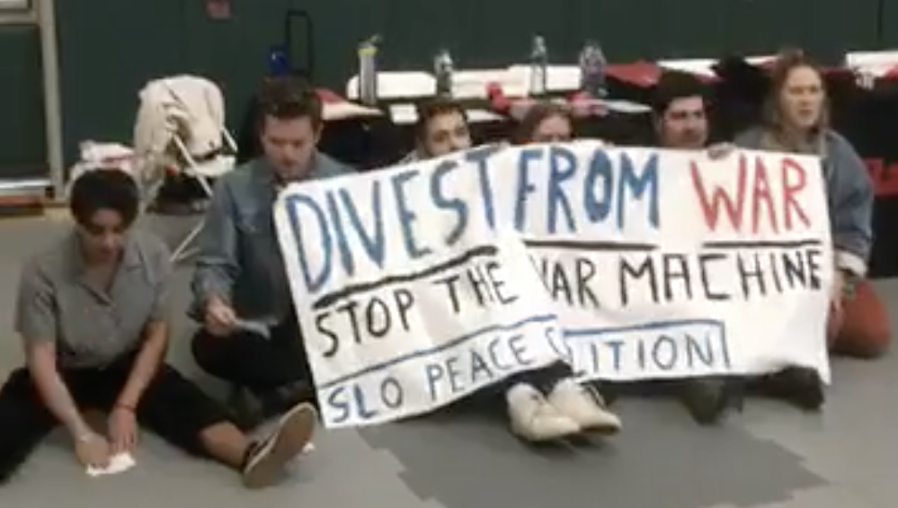 Cal Poly and student protesters clash over anti-war demo in career fair