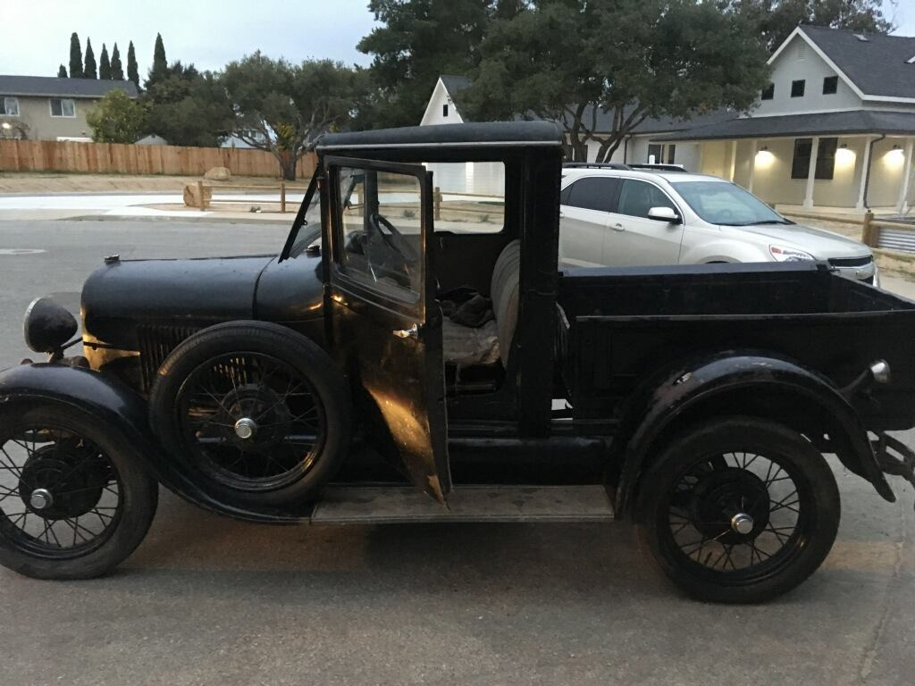 Thief gets caught after stealing classic truck from 98-year-old man