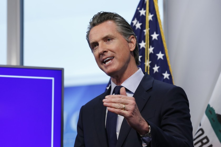 California governor quarantined after exposure to CHP officer with coronavirus