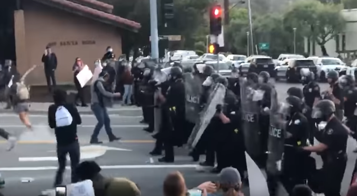 SLO judge halts another case against BLM protesters