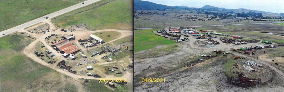 SLO County claims 'obvious' violations at DeVaul's Sunny Acres
